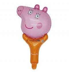 Balloon With Peppa Pig Design (PINK - ORANGE) (Os)