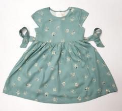 Girls Dress (GREEN) (2 to 6 Years)