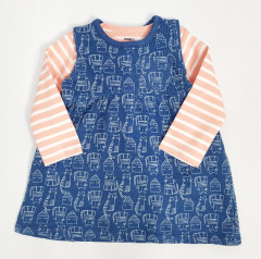 Girls Dress (BLUE) (62 to 74 CM)