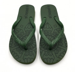 AEROPAD Ladies Slippers ( GREEN ) (36 to 41)