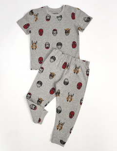 Boys 2 Pcs Pyjama Set ( GRAY ) (2 to 10 Years)
