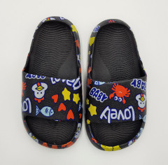 LOVELY Girls Slippers (BLACK) (26 to 30)