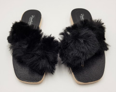 Ladies Slippers (BLACK) (37 to 41)