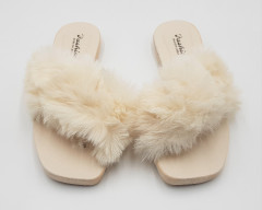 Ladies Slippers (CREAM) (37 to 41)