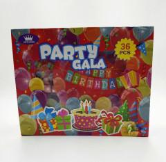 Party Gala 36 pcs (OS) (GM)