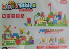 Block Tables Set (AS PHOTO) (35 Pcs) (GM)