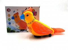 Musical and Lightening Parrot Toys For Kids 4D Aperture