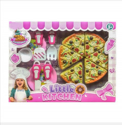 Cooking Game Pizza Little Kitchen Toy for Girl