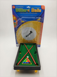 Kids Toy Mini Table Top Snooker Pool Play Set