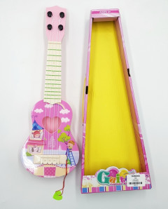 Good Quality Pink Ukulele Guitar Toys For Girls