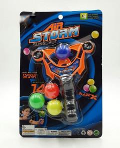 Mainan anak ketapel peluru bola plastik aman untuk anak