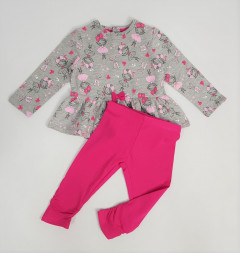 Girls Dress And  Panst Set