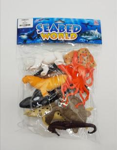 Mini seabed animals figure / ocean world / sea animal