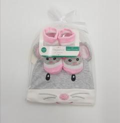 2 Pcs Baby Hat and Socks set
