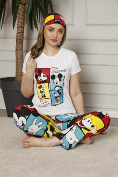 Ladies Turkey 3Pcs Pyjama Set