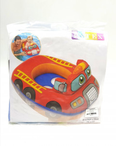Children's inflatable swimming ring for swimming children with legs toy firefighter