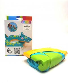 Inflatable Lifebuoy for Kids INTEX Crocodile