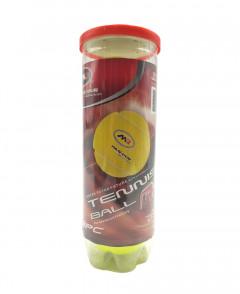 Tennis Ball 3 Piece Yellow