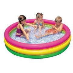Intex 3 layer baby swimming pool