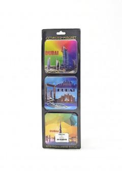 3Pcs Dubai Magnet