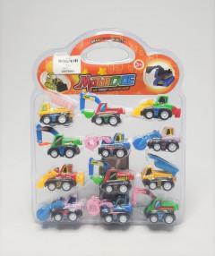 SUPER TOY Jcb Construction Toy Set -12 Pcs