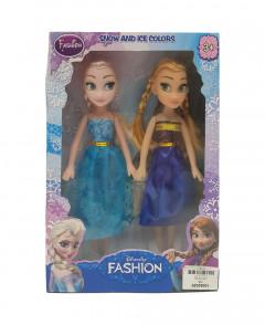 Frozen Dolls 2 Characters set Anna and Elsa.