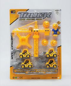 Super friction truck working machine