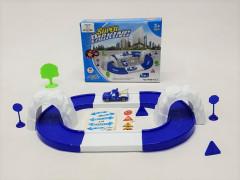 City Railway Toys Parking Play Set Toys Parking Garage Toys