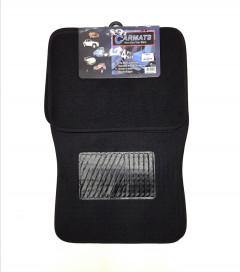 Car Floor Mats 4 Pieces Carpet Protection - Universal Fit for Car