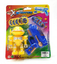 Robot Toy with Gun Set