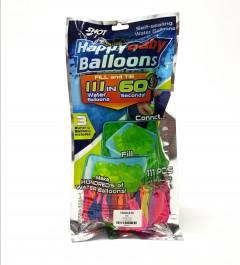 111 Pcs Mixed Color Magic Instant Water Ballon War