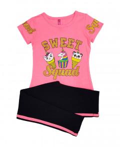Girls 2 Pcs T-Shirt And Pants