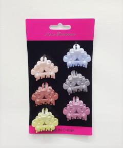 6 Pcs mini Hair Clips Set
