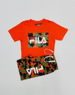 Boys 2 Pcs T-Shirt & Short Set
