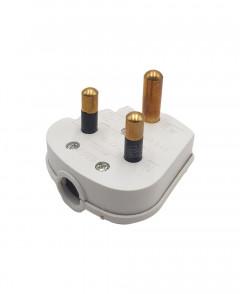 5 Amp 3 Pin Round Plug Top