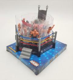 Joom Wrestling Toys for Kids WWE Action Figures Elite Wrestlers Warriors Undertake Ring & Fun Miniature Toys