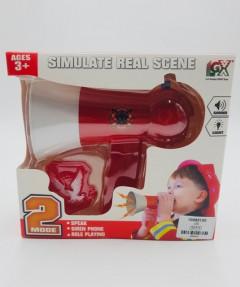 Fire Rescue Loud Speaker