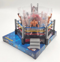Kids Wrestling Toys Elite Action Figures Fighters Warrior Toy Realistic Accessories Miniature
