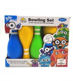 Bowling game 6 Pin Skittles And Balls