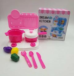 Girl's Kitchen Appliances Toy Set