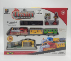 Train Track play set 24 Pcs with Battery