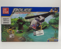 LEGO City Police 250053 Armed Helicopter , 107 Pcs