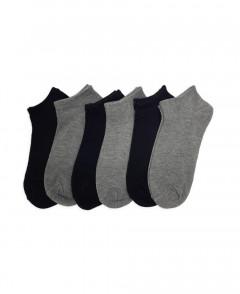 6 Pack Ladies Socks