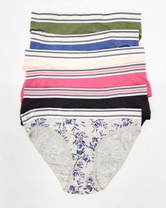 6 Pcs Shorts Pack Ladies Panty (Random Color)