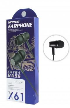 Stereo Earphones X61