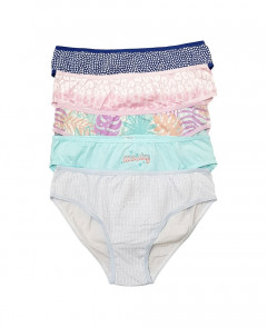 5 Pcs Pack Girls Panty