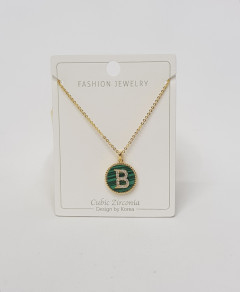 Initial Letter Necklace B