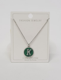 Initial Letter Necklace K