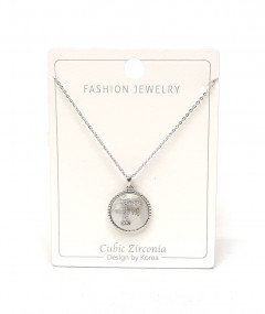 Initial Letter Necklace F