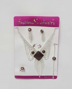 4Pcs Jewelry Sets For Ladies